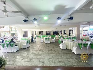 Khuôn viên rộng lớn của tiệc cưới